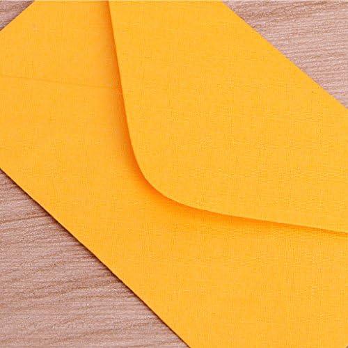 perfette per partecipazioni di nozze Manyo Lotto di 50 mini buste di carta stile r/étro colorate inviti auguri e regali 10x6cm//3.94x2.36 azzurro