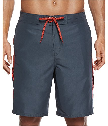 Nike Swim Men's Filter Splice Elastic Waist Board Shorts, 9 (Waist Nike Elastic Shorts)