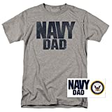 U.S. Navy Dad T Shirt & Exclusive Stickers (X-Large)