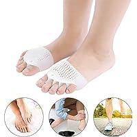 TMISHION Gel Separador de Dedos, 1 par para la Corrección de Los Dedos del Pie, Aliviar el Dolor Después del Yoga y Actividades Deportivas para Uso Nocturno y Diurno
