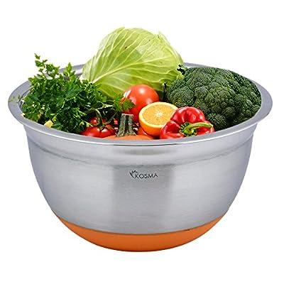 Kosma Stainless Steel Premium Extra Deep Mixing Bowls