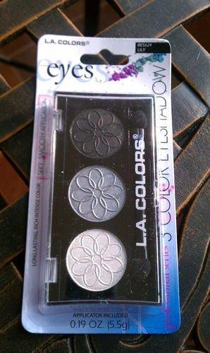 LA Colors 3 Color Eyeshadow (BES624/ Lily)