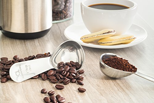 Apace Living Coffee Scoop (Set of 2) - 2 Tablespoon (Tbsp) - The Best Stainless Steel Measuring Spoons for Coffee, Tea, and More by Apace Living (Image #5)