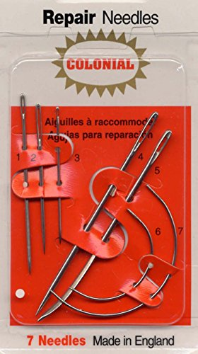 Colonial Needle 7 Count Household Repair Needle ()