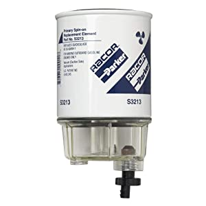 Racor Replacement Gasoline Series Filters Outboard Spin-On Fuel Filt