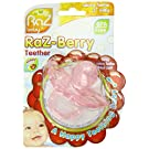 Razbaby Razberry Silicon Teether, Pink