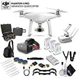 DJI Phantom 4 Advanced (CP.PT.000689) With WaterProof Case and Racing Editon Goggles Bundle