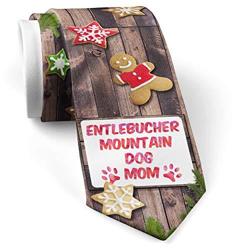 His Christmas NeckTie Dog & Cat Mom English Cocker Spaniel cookie wood print
