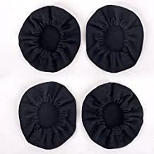 2 Pair High Quality Cloth Ear Cover for Pilot Aviation Headset