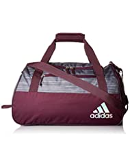 adidas Women\'s Squad III Duffel Bag, One Size, Onix Looper/R...
