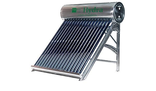 Solar druckloser Hervidora/Solar Water Heater proeco Hydra L de 160: Amazon.es: Bricolaje y herramientas