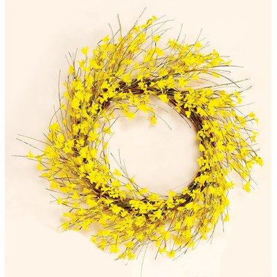Worth Imports 22 Inch Forsythia Wreath