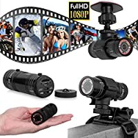Coper Full HD 1080P DV Mini Waterproof Sports Camera Bike Helmet Action DVR Video Cam