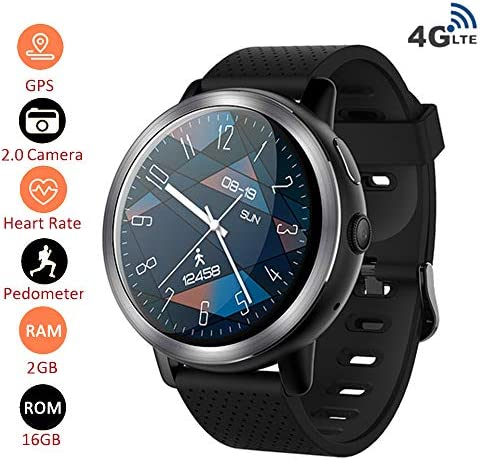 4G Smart Watch Phone Android 7.1.1 2GB + 16GB 2MP Camera 1.3