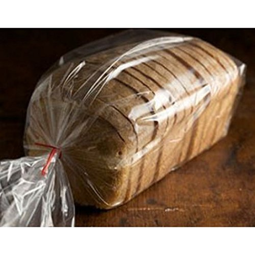 Royal Bread Loaf Packing Bags HD (100, 8 x 4 x 18) (Plastic Of Loaves Bread)