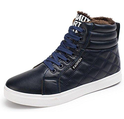 Herrenschuhe Outdoor / Sportlich / Lässig Fashion Sneakers Schwarz / Blau Blue