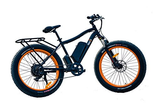 Safecastle Electric Bike Fat Tire, New Breeze Electric Mountain Bike Fat Wheels for Smooth Ride across Rocky terrain, Sand, Snow, Even Ice For Sale