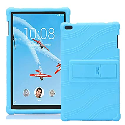 finest selection 2e043 9bbfb Lenovo TAB 4 8 Case - Light Weight Shock Proof Soft Silicone Cover [Kids  Friendly] for Lenovo TAB 4 8 TB-8504F TB-8504N Tablet 2017 Release, (NOT  for ...