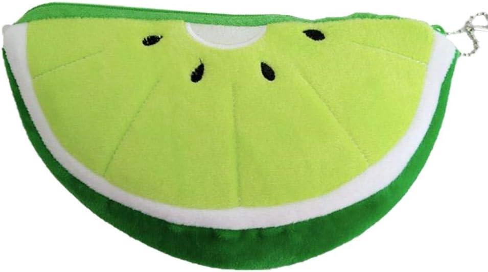 Wisilan - Estuche de goma EVA para lápices y bolígrafos (gran capacidad), diseño de frutas, color verde: Amazon.es: Oficina y papelería