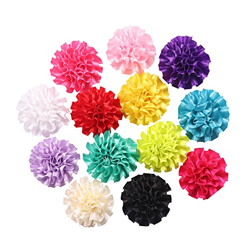 Yaka 26pcs mix polyester ribbon handmade cabbage for Health craft cookware reviews