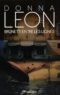 Brunetti entre les lignes par Leon