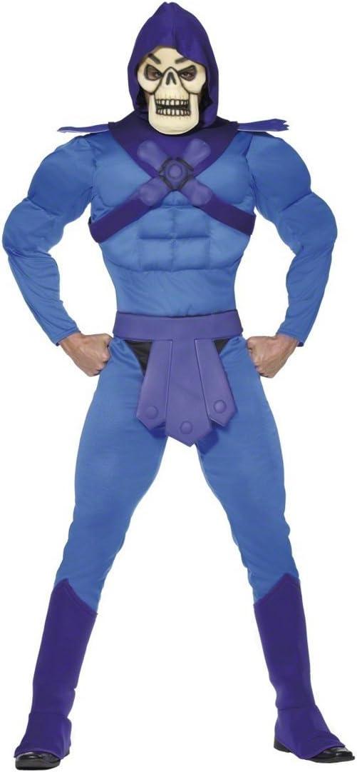 Disfraz esqueleto de He-Man traje villano Halloween: Amazon.es ...