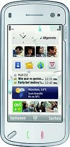 Nokia N97 - Móvil libre (32 GB de capacidad, teclado alemán QWERTZ, S.O. Symbian) color blanco [importado de Alemania]
