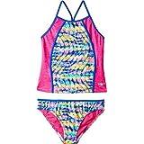 Speedo Rhythmic Tie Dye Tankini Two Piece Swimsuit