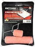 Kingorigin 5 piece,paint rollers,paint roller,paint roller frame, paint tray, paint roller kit