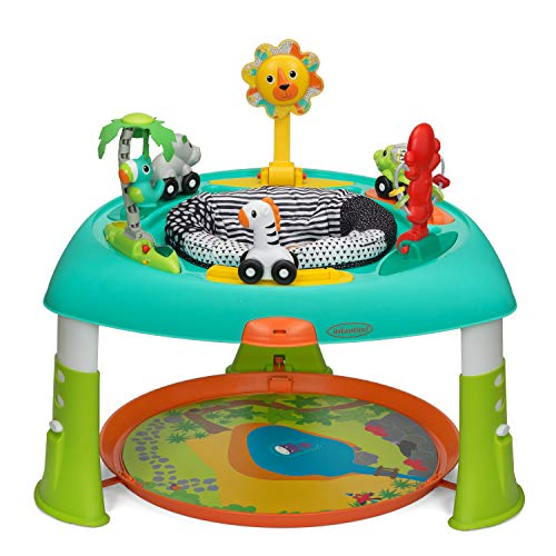 Infantino 3-in-1 spin & staande entertainer – 360° zit- en activiteitstafel met gemakkelijk op te bergen design…