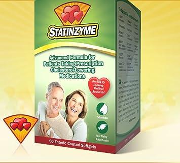 355521faf79 Amazon.com  STATINZYME 60SG  Health   Personal Care