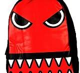 Urban Junk Red Monster Backpack