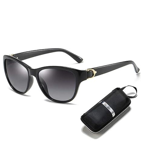 Yangjing-hl Gafas de Sol Cat Eye Gafas de Sol polarizadas ...