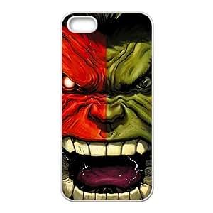 Screaming Hulk iPhone 5 5s Cell Phone Case White yyfabd-340475