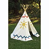 : POOF 7.5-Foot Plains Hideaway Tee Pee