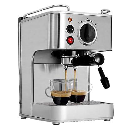 PLTJ-Pbs Máquina de café Espresso consumidor y Comercial Completo Semi-automático de Vapor