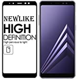 Newlike Samsung Galaxy A8 Plus 3D Full Tempered Glass For Samsung Galaxy A8 Plus - Black