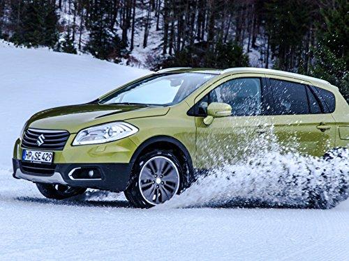 All-Wheel Drive on Snow (Drifting Snow)