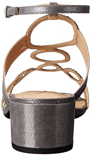 Terri Renee Silver Sandal Dress Glimmer Women's J qFZwAxPW