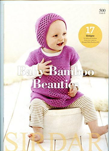 Baby Bamboo Beauties - Sirdar Knitting Pattern Book #500
