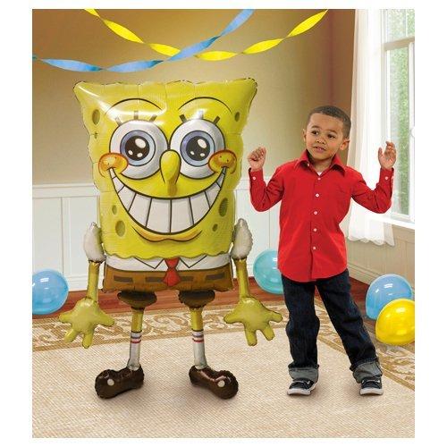 Anagram 23481 Spongebob Squarepants Airwalkers Foil Balloon, 46