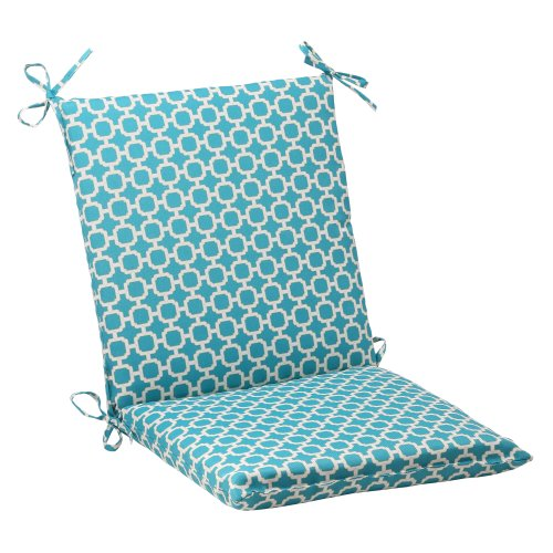 Pillow Perfect Indoor/Outdoor Hockley Squared Chair Cushion,