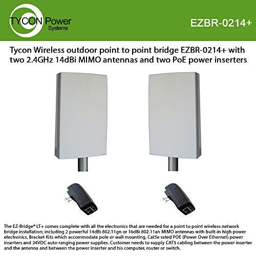 The EZ-Bridge-Lite EZBR-0214+ High Power Outdoor Wireless Point to Point System