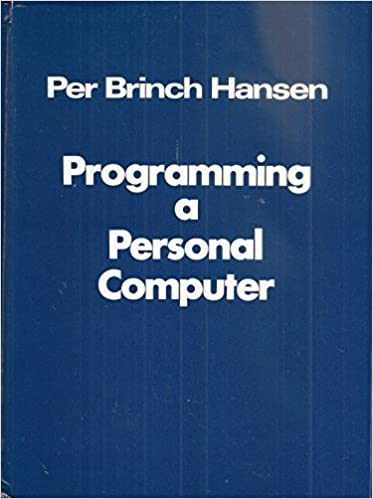 Programming a personal computer
