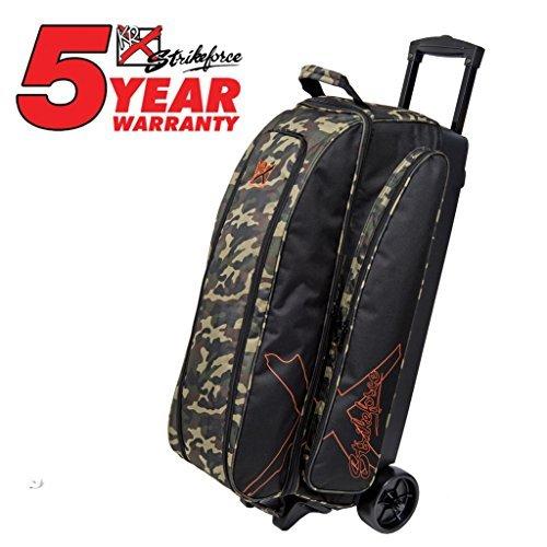 KR Hybrid X Triple Roller Bowling Bag- Camouflage