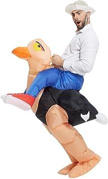 Inflatable Costumes - Adultos traje de avestruz inflable: Amazon ...