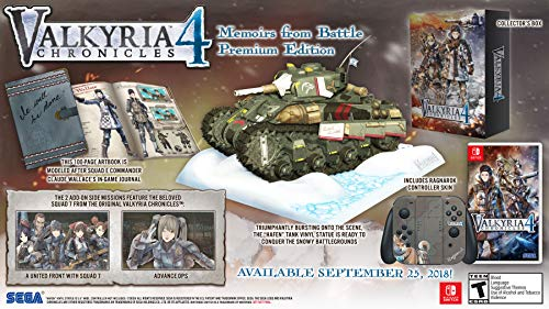 - Valkyria Chronicles 4: Memoirs From Battle Edition - Nintendo Switch