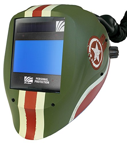 ArcOne AP-X60VX-1555 AirPlus Vision Tank Welding Helmet with X60VX 5 x 4-Inch Digital ASIC Darkening Filter by ArcOne (Image #1)