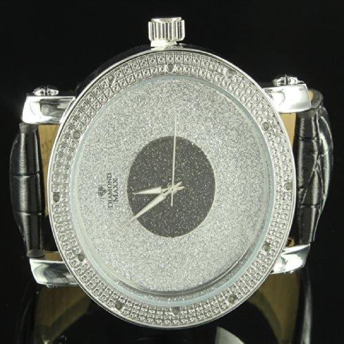 Custom Band Diamond Watch - 7
