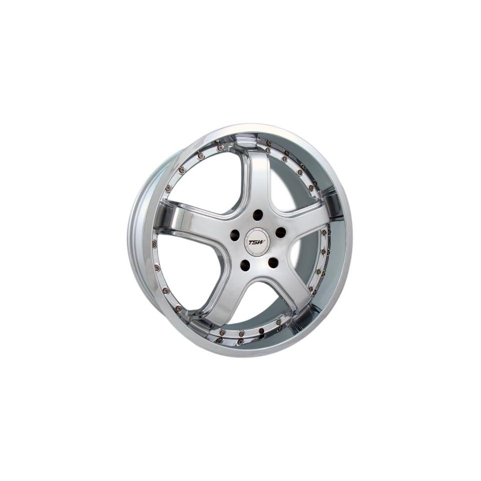 22x9 TSW Mineshaft (Chrome) Wheels/Rims 6x135 (2290MIN256135C)
